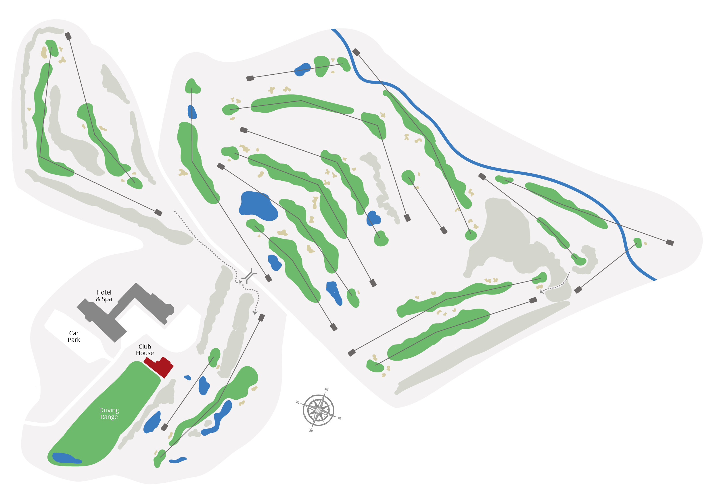 The Course Course Map